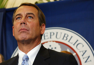 John Boehner Shows His True Colors: American People Will Pay for BP Clean up  boehner2