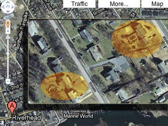 Riverhead, NY using Google Earth to spy on pool permit violators