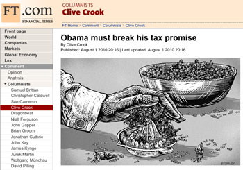 Financial Times demands Obama 'break his tax promise'