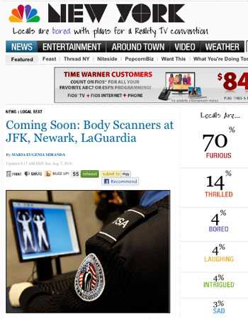 70% in NBC New York poll 'furious' at arrival of airport body scanners  07furious
