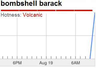 'Bombshell Barack' and 'Kill Web' Top Google Trends  19googletrendsb