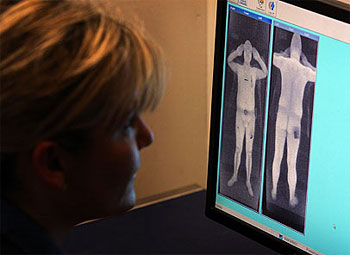 Naked Body Scanner Images