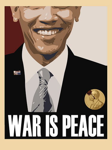 Obama Boasts 'End of Iraq War' as Iran War Kicks into High Gear  obama war is peace