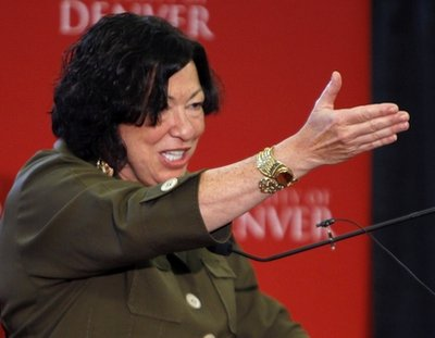 Sotomayor Says Court May Rule to Limit First Amendment in Response to Wikileaks  sotomayor4
