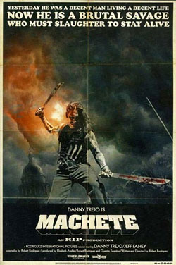Rodriguez Planing Two More Machete Race War Cult Films macheteposter