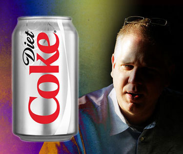 Warning to Glenn Beck: Don't Drink Diet Coke  beckdiet