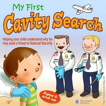 TSA Desktop Image Makes Joke of Cavity Searching Children  cavitysearch
