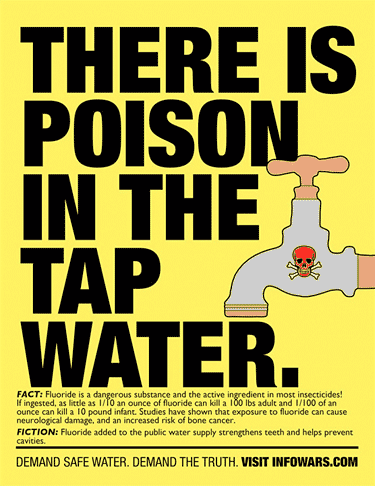 Study Proves Fluoride Brain Damage tapwater