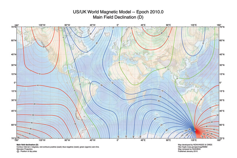 World Magnetic Model (2010)