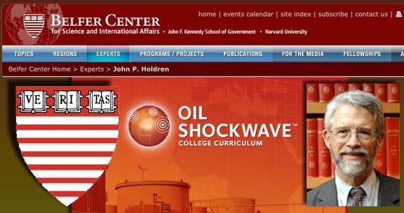 Big Oil's Tree Huggers: Harvard's Belfer Center for Science and International Affairs