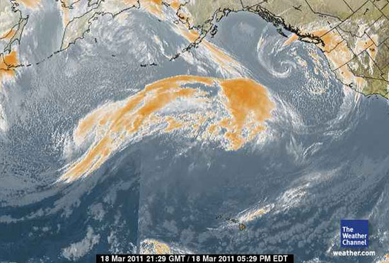 Massive Japanese Storm Headed for U.S. West Coast  18storm