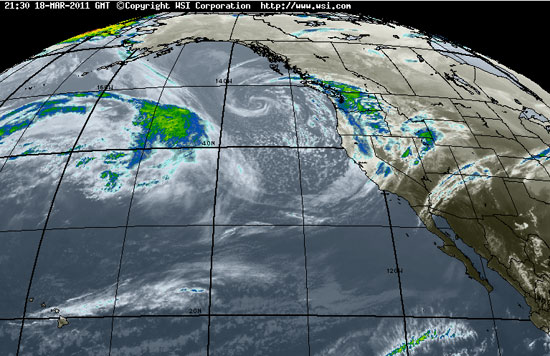 Pacific Satellite, Intellicast, timestamp 21:30 18-MAR-2011