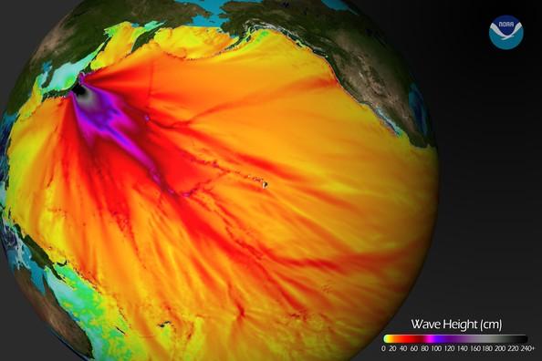 NOAA - Magnitude 8.9 Strong Earthquake Jolts Northern Japan