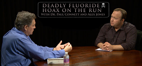 Fluoride Hoax Exploding: Alex Jones Interviews Dr. Paul Connett ontherun