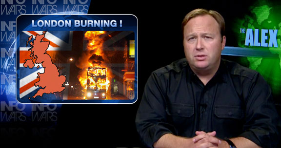 LONDON BURNING: Infowars Special Report on Social Unrest and Economic Collapse INFOWARS ALEX JONES LONDON BURNING