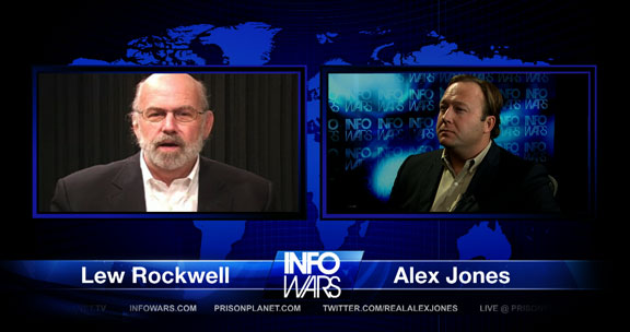 Infowars Nightly News - August 25, 2011 Lew Rockwell and Alex Jones