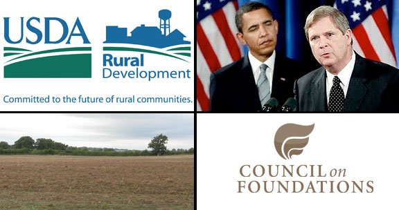 Rockefeller's Council on Foundations Agreement with USDA and White House Rural Council