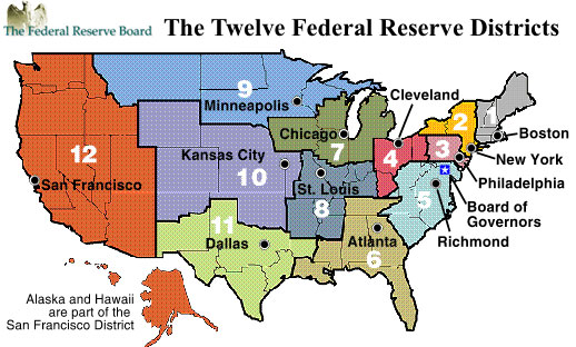Occupy the Federal Reserve Movement Launched 03Federal reserve locations