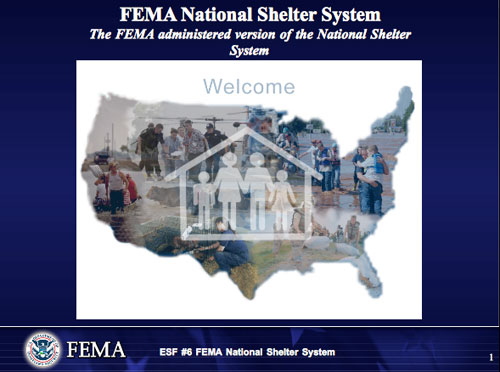 Exclusive: Military to Designate U.S. Citizens as Enemy During Collapse FEMA shelter support