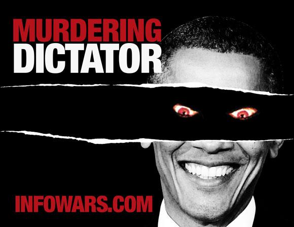 Explosive Activism: Stop Obama Dictator Contest ObamaEvilEye poster