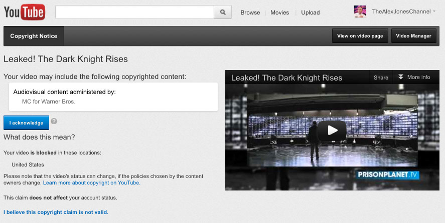 Warner Bros. Censors Review Critical of Dark Knight Rises Just Before Release leaked dark knight lg