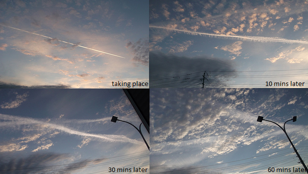 Global Chemtrail Bombardment   User Photos and Video chemtrail29