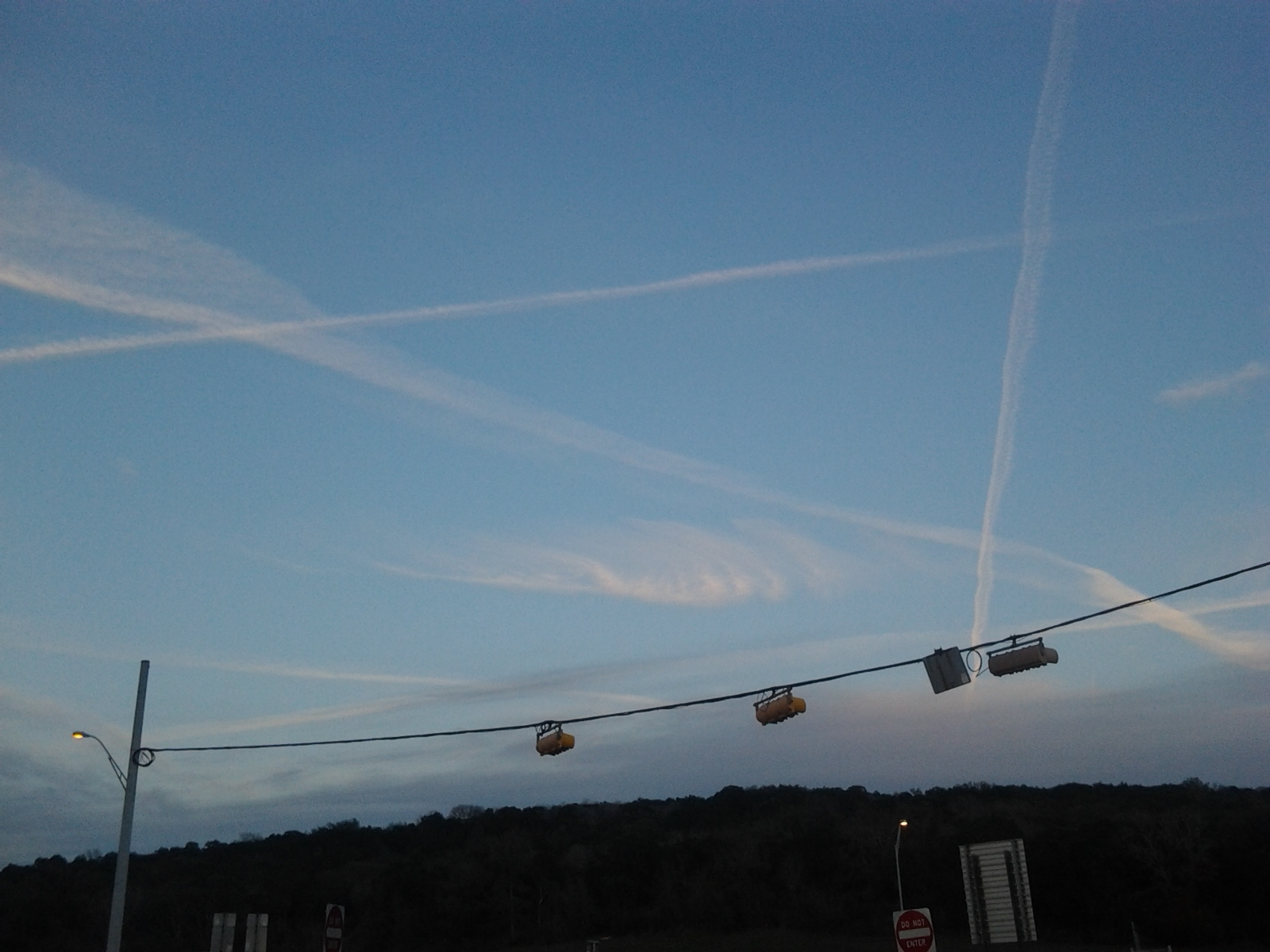 Global Chemtrail Bombardment   User Photos and Video chemtrail34