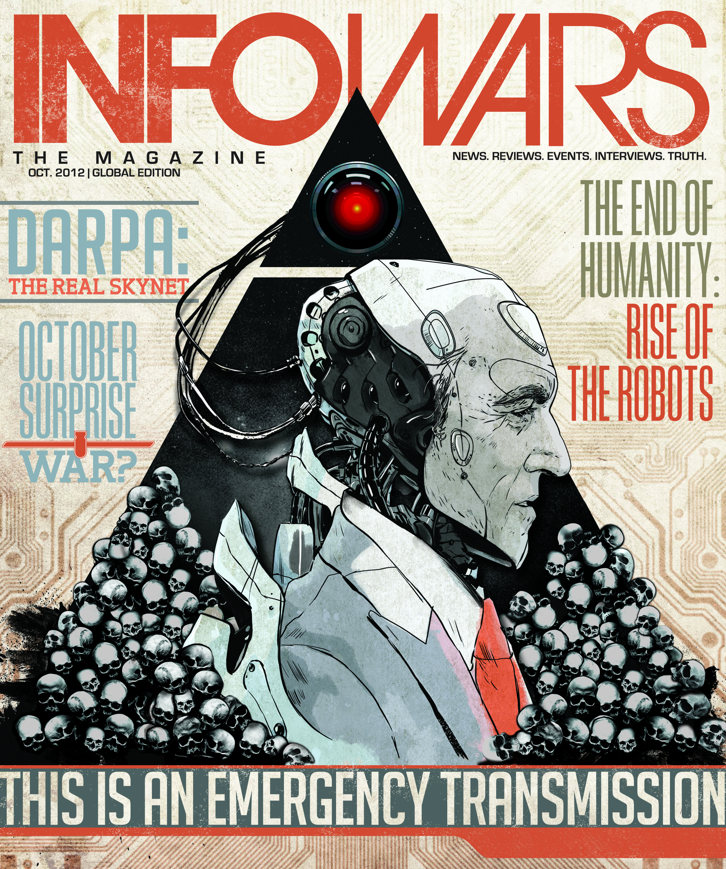 October Infowars Magazine Released: The Technocracy Takeover octcover