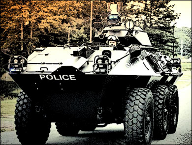 Police State: Growth Rate of Cops Exceeds Population Growth policetank