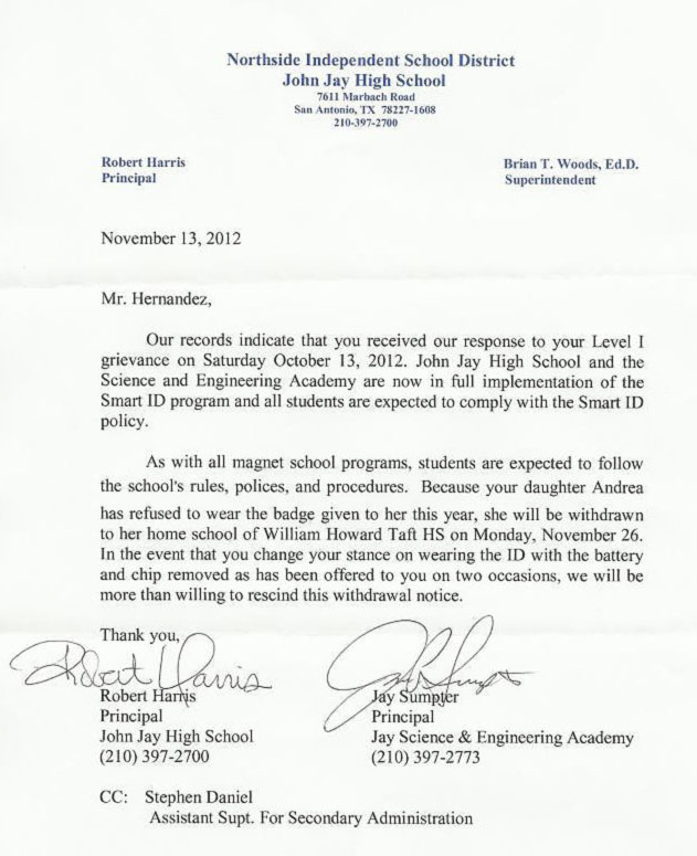 Suspension and Expulsion from School