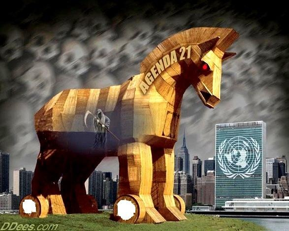 Media Panic to Control Exposure of Agenda 21 Takeover agenda 21 trojan horse