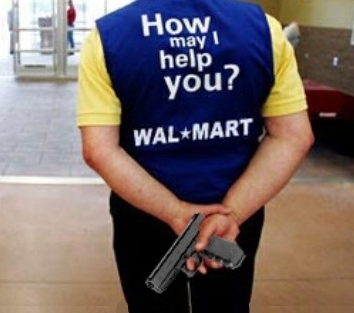 Walmart security guard catches husband stealing wife gets punished for it 2