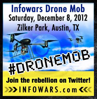 Texans Protest Spy Drones
