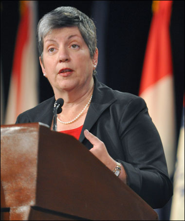Napolitano Uses Effects Of Sandy To Promote Cybersecurity Executive Order