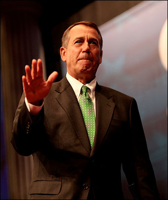 Republicans Wimp Out, Fail to Oppose Democrat Plan to Tax Wealth Producers  johnboehner