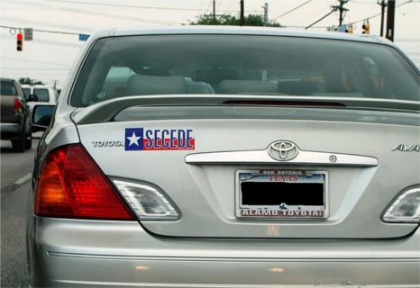 Obama Reelection Spurs Wave of States Petitions to Secede secedebumpersticker2