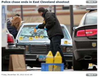 Public Outraged as Chase Ends With Police Firing over 130 Shots into Car, Find No Weapons bulletriddle