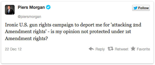 Deport Piers Morgan Petition Reaching Goal morgan1