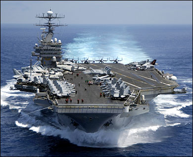 "Obama: ""Window of Opportunity"" for Iran Attack Opens in June aircraftcarrier"