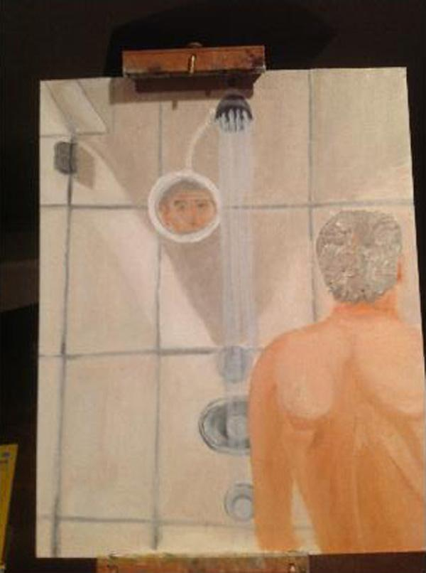 Is George W. Bush Depressed? bush shower