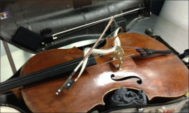 TSA Breaks World Renowned Cellists $20,000 Bow cellobow1