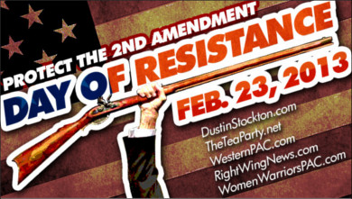 National Day of Resistance Rally Planned for Saturday, Feb 23 (.223) dor