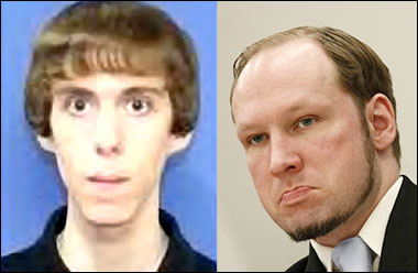 "Police Claim Lanza in ""Direct Competition"" with Norwegian Shooter Breivik lanzabreivik"