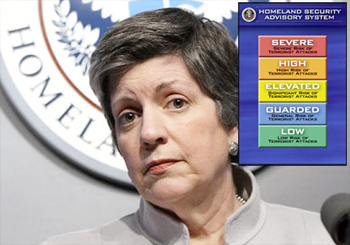 Homeland Security Chief Threatens Terror Attacks if Budget Cuts Go Through napolitano fear mongers
