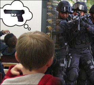 Student Suspended for Thinking of Gun (Satire) crimestop8