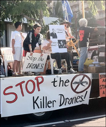 Dianne Feinsteins Drone Rules Playbook droneprotest