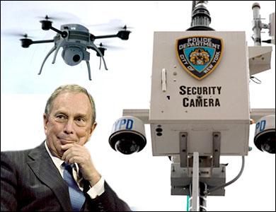 Nanny Bloomberg: Drone Panopticon Inevitable mikeysurveillance