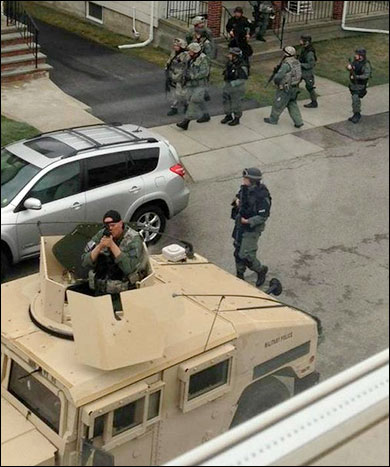 Video: SWAT police gunpoint raids in Boston Were Conducted House After House bead