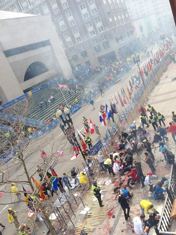 Explosions at Boston Marathon, At Least 2 Dead bostonmar2