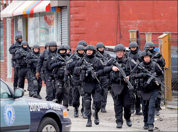 Video: SWAT police gunpoint raids in Boston Were Conducted House After House bostonmil6